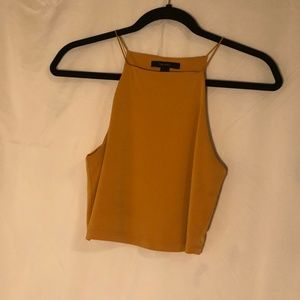 Cropped Halter Style Top